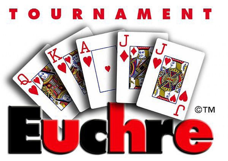 Euchre Tournament Logo
